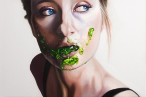 Jell-O, too, is Real. Painting by Emily Burns.
