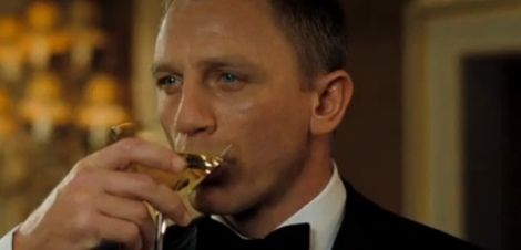 Daniel Craig as James Bond. No idea which film this is from; could be any of them!