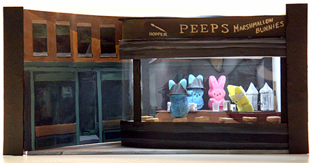 Peep diorama by Melissa Harvey, featured in the Washington Post