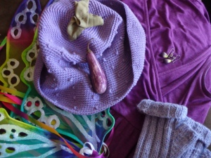 Fairytale eggplant costume