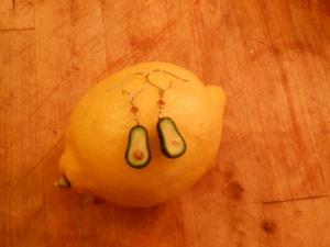 My inedible earrings