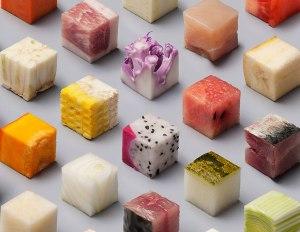 Food Cubes by lernertandsander.com