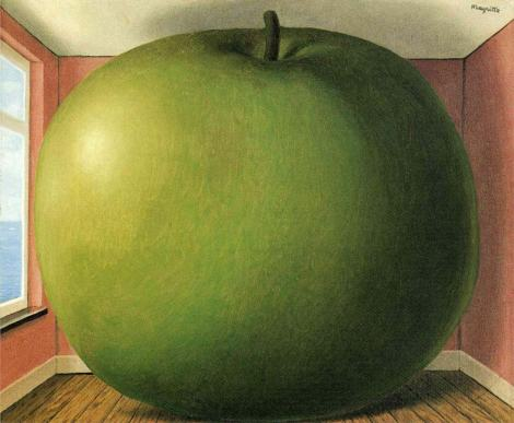 """The Listening Room"" by Rene Magritte (1952)"